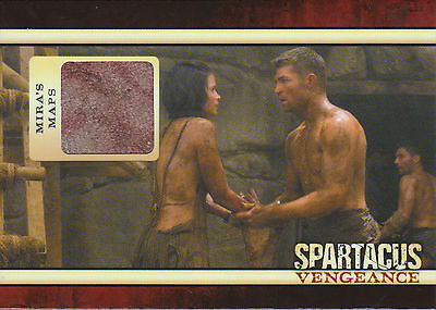Spartacus 2013 Trading Cards Mira's Maps Relic
