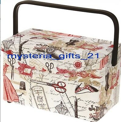 Sewing Basket Large Rectangle Direct From Warehouse