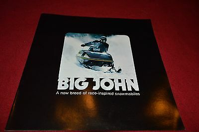 John Deere Big John Snowmobiles For 1975 Dealer Brochure DCPA3