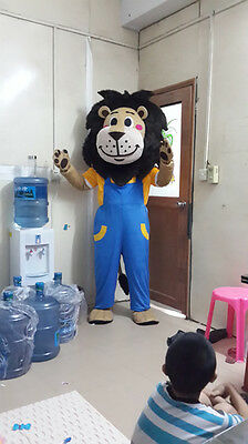 New Style Lion Mascot Costume Fancy Dress Adult Size