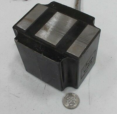 Vibratory Feeder Coil Electromagnet that will lift 890 pounds @24VDC E-0379