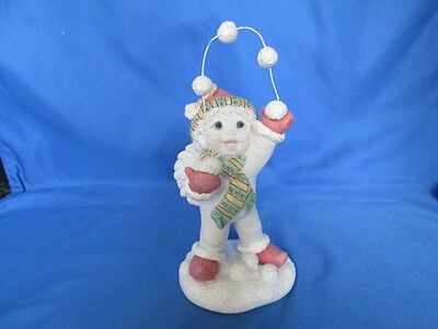 Rare Dreamsicles Snow Juggler Figurine Signed & Dated 2001