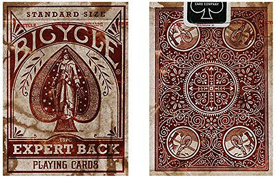 Bicycle Distressed Expert Back Playing Cards - 1 Sealed Deck