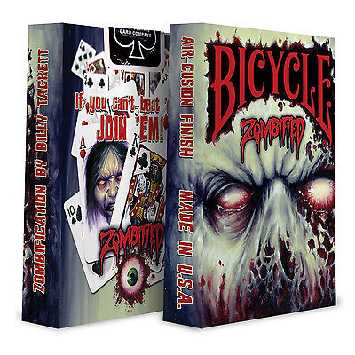Bicycle Zombified Collectible Poker Playing Cards - 1 Sealed Deck