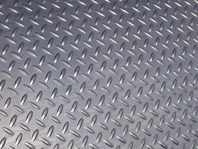 Steel Floor / Chequer Plate 2400mm x 1200mm x 3mm