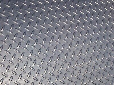 Steel Floor / Chequer Plate 2400mm x 1200mm x 2.3mm