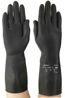 Marigold G17K Black Latex Rubber Thick Heavy Duty Strong Household Kitchen Glove