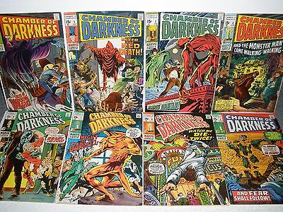 Marvel Comics Chamber of Darkness # 1 2 3 4 5 6 7 8 Nice Set