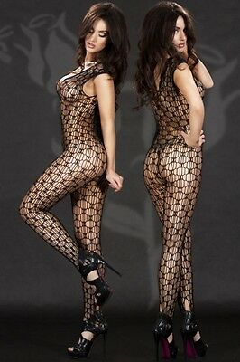 Hot Reizwäsche Fishnet Body Stocking Catsuit Netz Body Unterwäsche LC79442