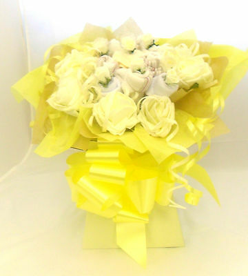 Baby Gift Basket Clothes Bouquet Newborn Gift Christening Gift Xmas Gift