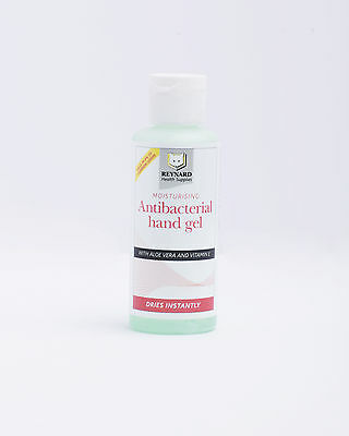 Moisturising Antibacterial Hand Gel 60ml (pack of 5)