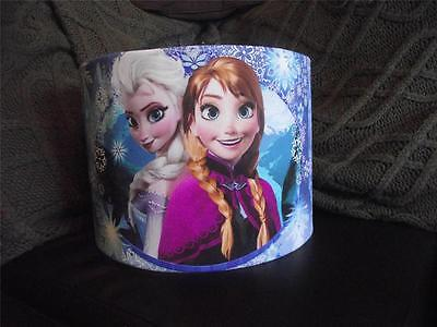 "Frozen - Elsa And Anna - D2   10"" Drum Ceiling Lampshade Lightshade"