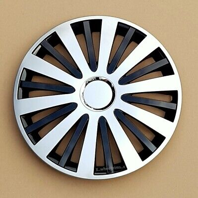 """full set 15"""" wheel trims hubcaps cowers to fit  Vw Transp.T4,Golf,Polo,Touran"""