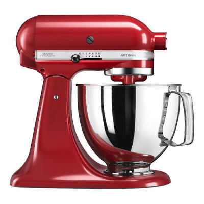 KitchenAid ARTISAN Küchenmaschine 5KSM125EER Empire Red Factory Serviced 4,8L