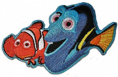 Finding Nemo /& Friends Embroidered Premium Patch Set Of 3 Iron On Patches