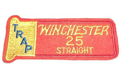 Vintage Winchester Patch - Trap 25 Straight Rare