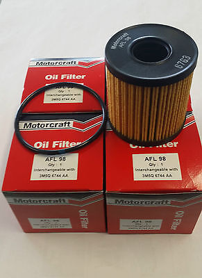 Genuine Ford Motorcraft Oil Filter (Pack of 4) MA MB MC Mondeo 2.0L Diesel