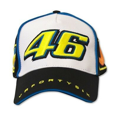 Official Valentino Rossi Paddock Cap 46 Black/white Universal 2016 Offer