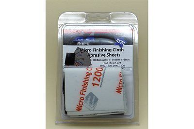 FLEX-I-FILE ALBION FF2050A Micro Finishing Cloth Abrasive Assorted