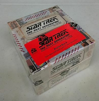 Star Trek The Next Generation Portfolio Prints Series 1 Sealed Archive Box - TNG