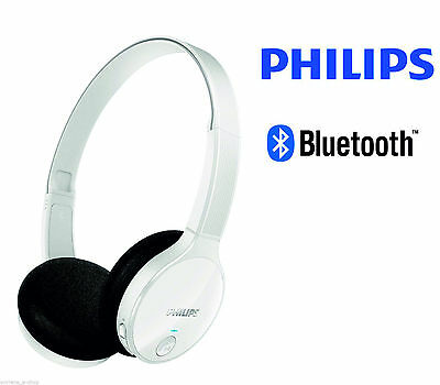 PHILIPS SHB 4000WT 10 Bluetooth Headphones for Wireless Music with Call  Control - £40.50  c85d5a37e6