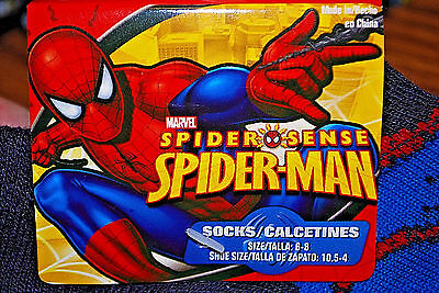 10-Pairs of SPIDER-MAN & MARVEL COMICS Assorted Boys Socks Size 6-8 (#S5646)