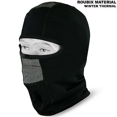 Motorcycle Balaclava Winter Thermal Roubix Face Mask Motorbike Under Helmet