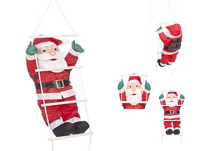 2Ft Santa Claus Rope & Ladder Decoration Indoor Christmas Xmas Decoration Home