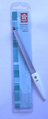 Pfeilring 1220/16W Sapphire Curved Nail File for Shaping Nails - Made in Germany