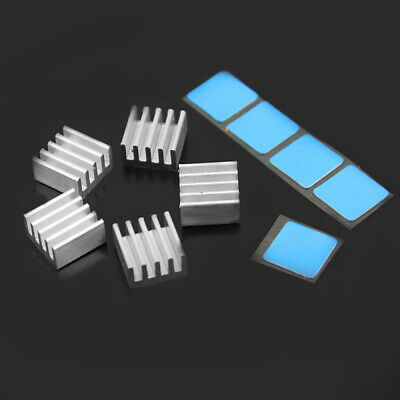 5pcs Silver Heatsink Cooling Fin For Printer Stepper Motor Driver Board