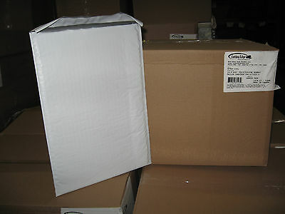 "100 #5 XPAK White Poly Bubble Mailers, 10.5"" x 16"" w/ Free Shipping!"
