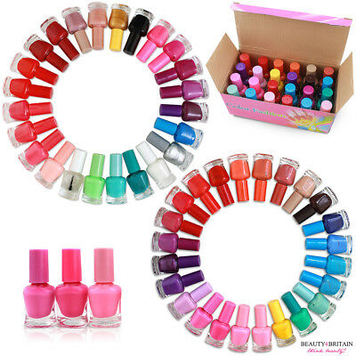 24 NAIL POLISH VARNISH SET 24 DIFFERENT COLOURS in DISPLAY BOX 6ml WHOLESALE UK
