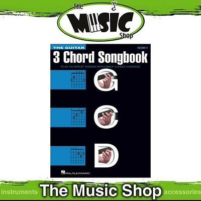 New The Guitar 3 Chord Songbook Music Book - Volume 2