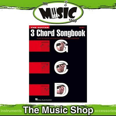 New The Guitar 3 Chord Songbook Music Book - Volume 1