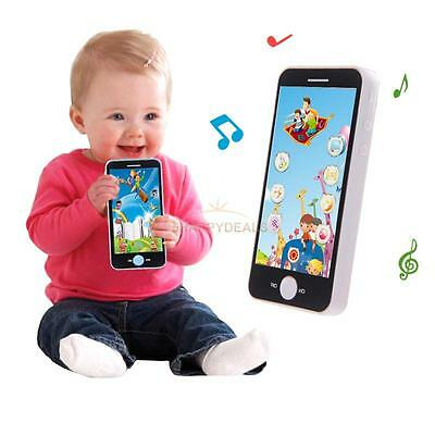 Baby Kids Simulation Music Phone Touch Screen Kid Educational Learning Toy Gifts