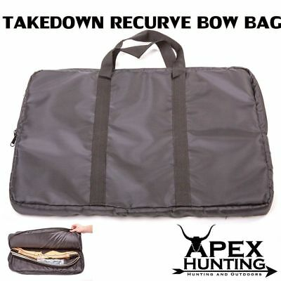 New Apex Black Bow Bag For Takedown Recurve Bow Archery And Hunting