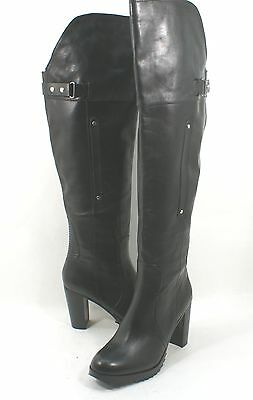 625e970e83d NEW DV BY Dolce Vita Indygo Black Leather Over the Knee Boot Size 6 ...