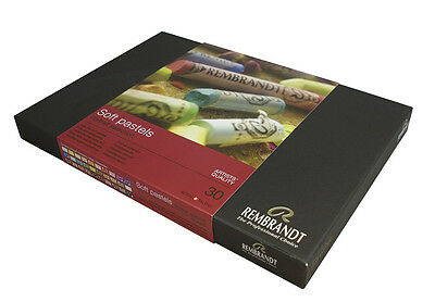 Rembrandt Artists Soft Pastel Set of 30 Portrait Colours