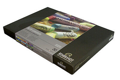 Rembrandt Artists Soft Pastel Set Of 30 Landscape Colours