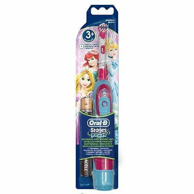 Braun Oral-B Advance Power Kids Girl Battery Toothbrush, Disney Princess Edition