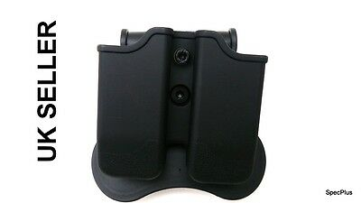 IMI Style Double Mag Polymer Rotation Holster BERETTA 92, 96; BROWNING HI-POWER
