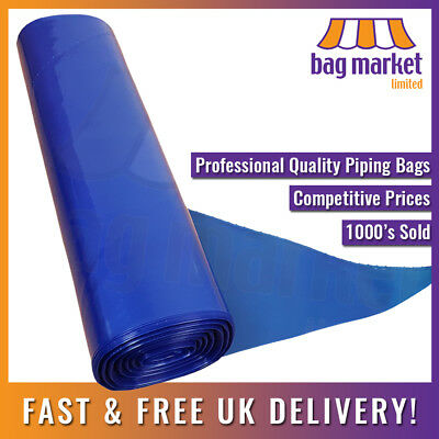 "21"" X-Large Piping Bags Blue Professional Disposable! 