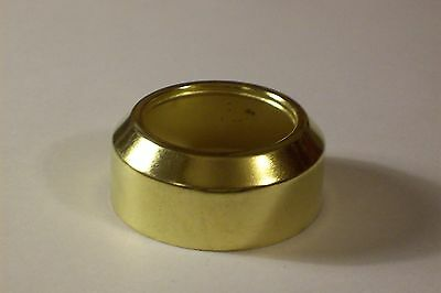 #2 Steel Brass Plated Collar For #2 Brass Plated Burners Lamp Part New 54356J
