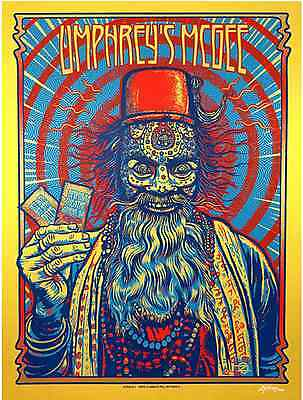 Zoltron Umphrey's McGee The Georgia Theatre Gold Variant Poster Print Signed AE