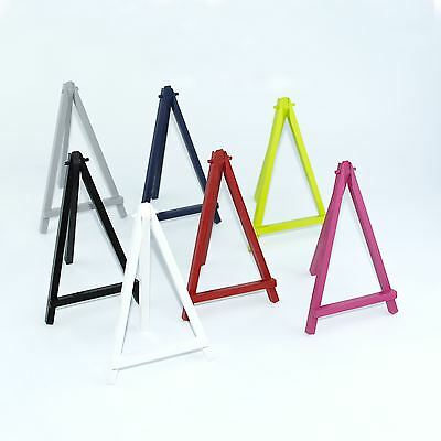 "8"" Color Mini Wooden Artist Easel - Artwork Display Table Settings Set Craft Art"