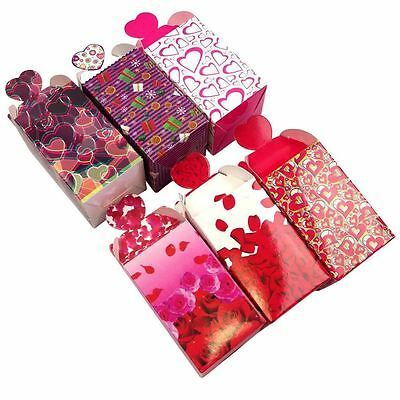 Printed Heart Top Favour Boxes