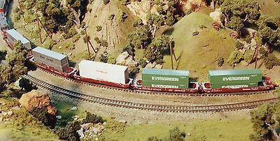 N Scale Wiseman Nsn-Rc03 Gunderson Maxi Stack Iii Articulated Well Car Kit