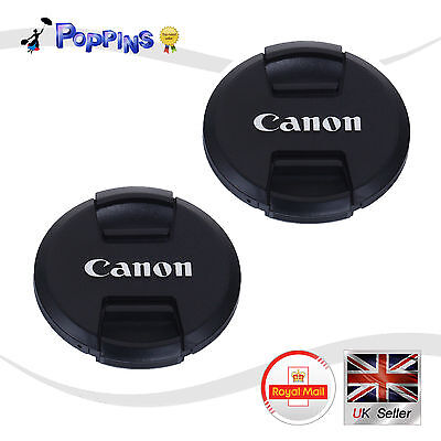 2 X New 72mm Lens Cap For Canon E-72 II Lens Cap Ultrasonic Lens Cap Dust Cover