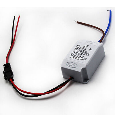 AC 85V-265V to DC 9-12V LED Electronic Transformer Power Supply Driver 3X1W Gift