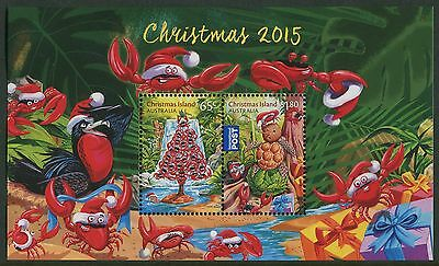 Christmas 2015 - Mnh Minisheet (R108)
